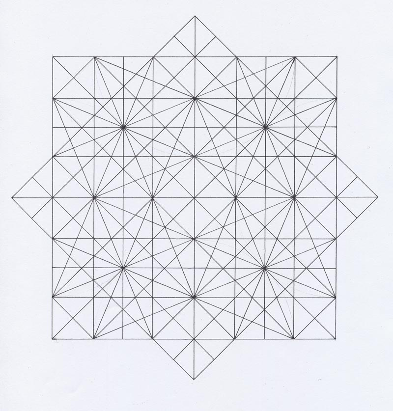 Mark A Reynolds  The Octagon In LeonardoS Drawings